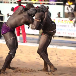 Wrestling in Dakar by Edward Porembny