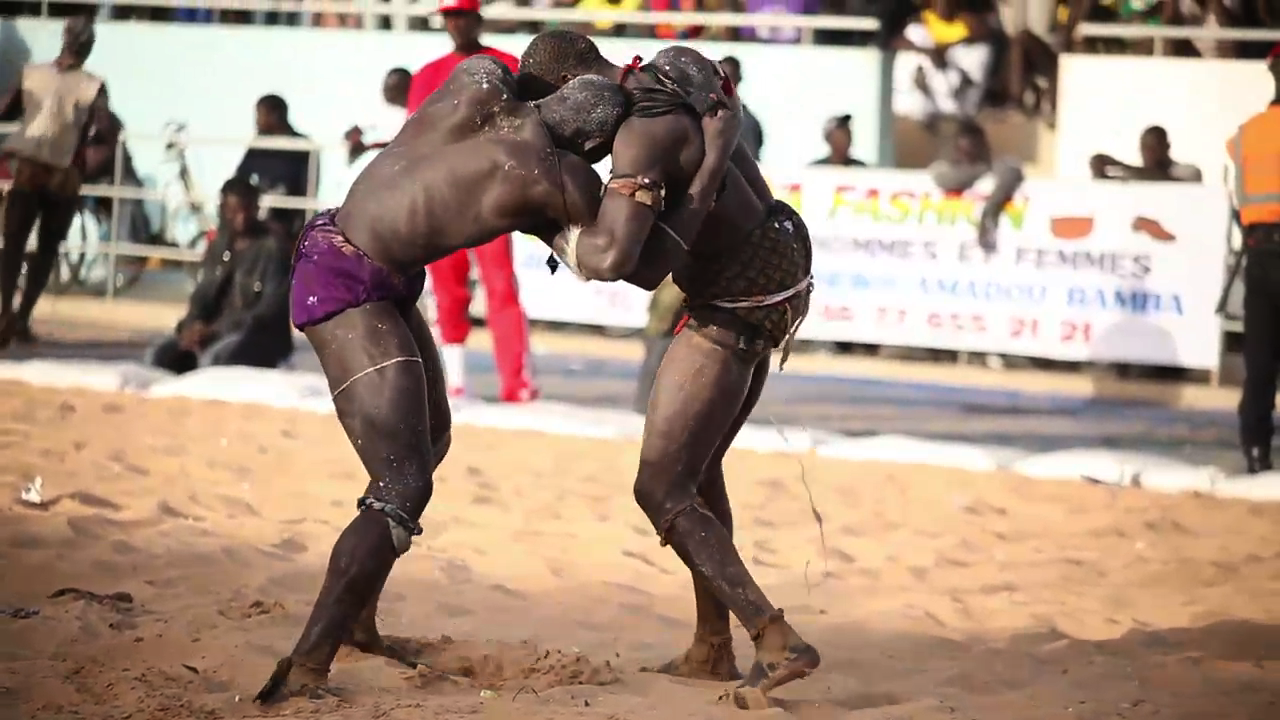 Wrestling in Dakar