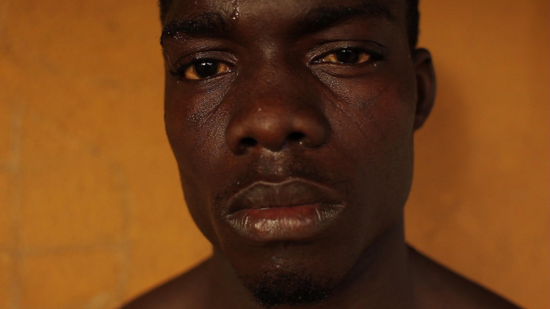 Thiam - Wrestling in Dakar by Edward Porembny