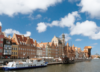Danzig Goldene Stadt an der Ostsee