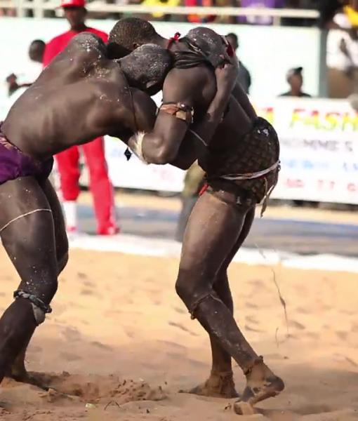 Wrestling in Dakar